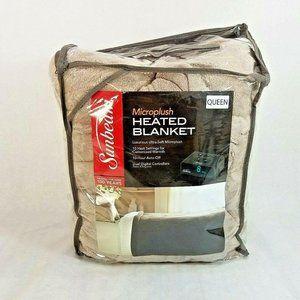 Sunbeam Microplush Electric Blanket Queen Size